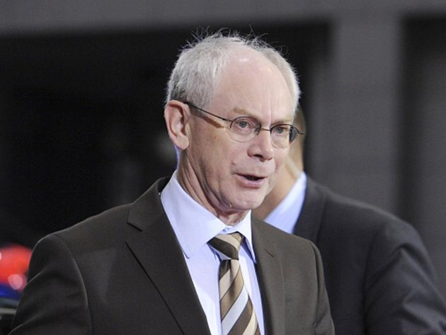 Prezident EU Herman Van Rompuy.