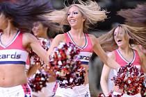 Roztleskávačky Washingtonu byly tím jediným, co mohlo udělat fanouškům Wizards radost.