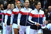 Francouzské tenistky pod vedením Amélie Mauresmové