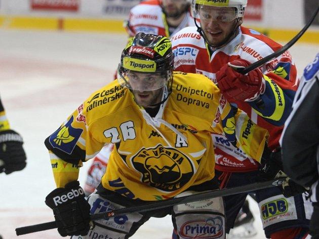Viktor Hübl poslal Litvínov do semifinále extraligy.
