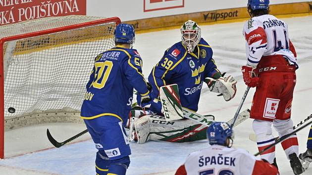 České hokejové hry, turnaj Euro Hockey Tour: Česká republika - Švédsko