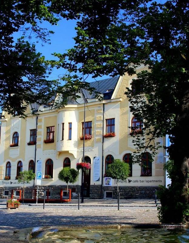 Hotel a restaurace Nebespán