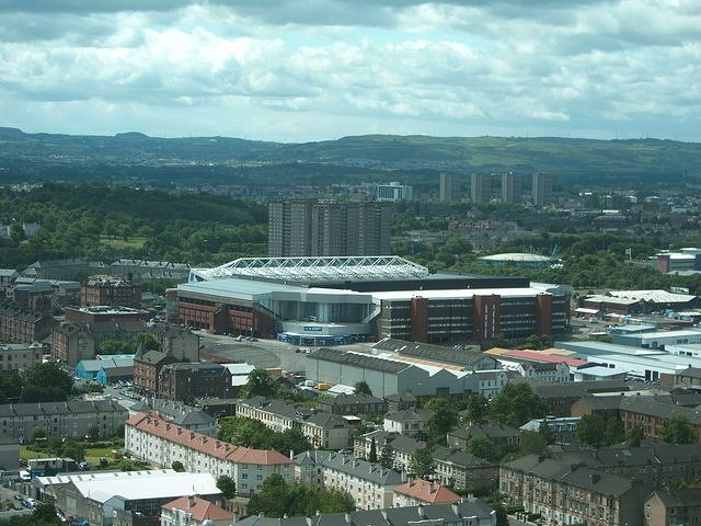 Stadion Ibrox v roce 2008