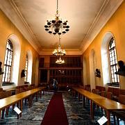 Historická budova Univerzity Karlovy - Karolinum.