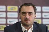Bývalý generální ředitel fotbalové Sparty a nyní člen představenstva Adam Kotalík (na archivním snímku z 13. února 2017)