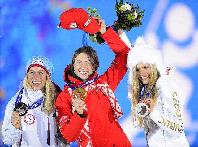 Na stupních vítězů ji doprovodily Norka Eckhoffová a Běloruska Domračevová