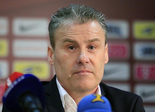 Trenér Pavel Hapal.