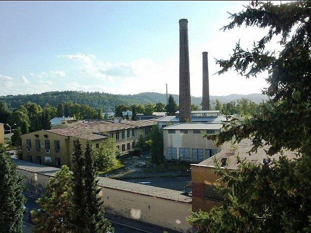 Perla Zábřeh. Snímek areálu pochází z roku 2005