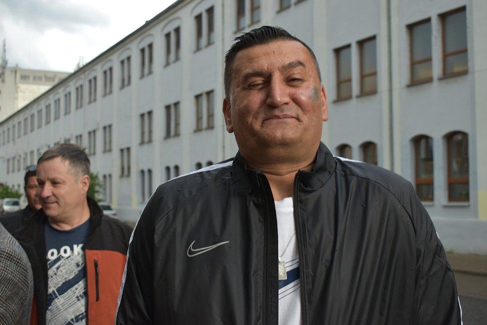 Na vernisáži Milana Junka v Lovosicích se sešli jeho přátelé