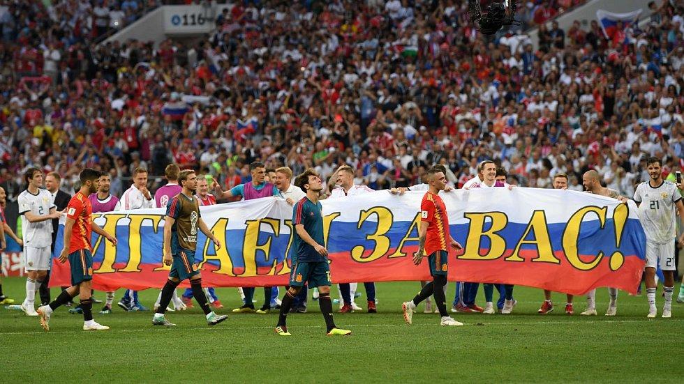 Rusko si zahraje čtvrtfinále domácího mistrovství světa.