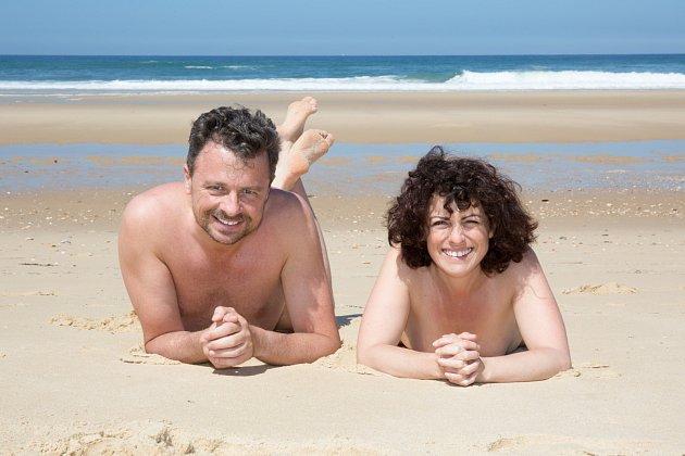 Nudismus, ilustrační foto