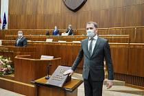 Nový slovenský premiér Igor Matovič
