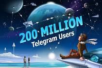 Chatovací aplikace Telegram