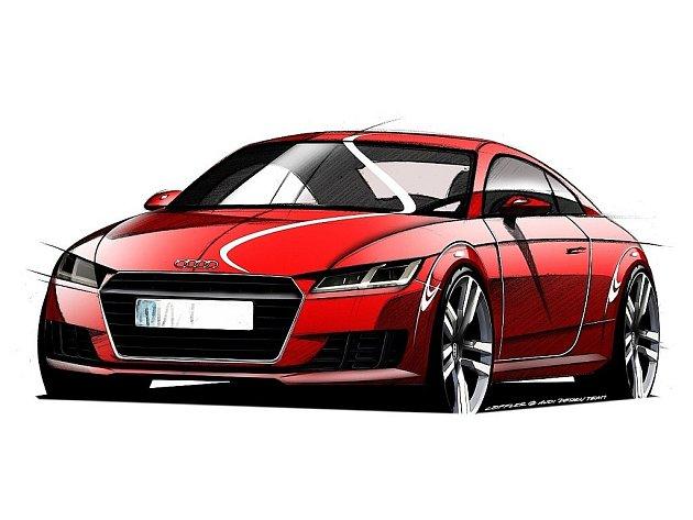 Skica nového Audi TT.