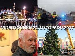 Videosouhrn Deníku – 22. listopadu 2017