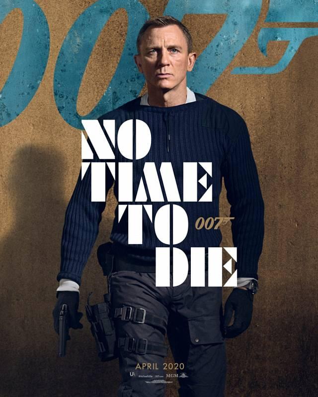 Zatím poslední film o Jamesi Bondovi - Není čas zemřít - má mít premiéru v dubnu 2021.