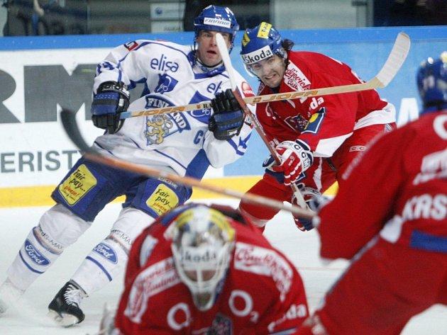 Prvním soupeřem českých hokejistů v rámci Švédských her budou reprezentanti Finska.