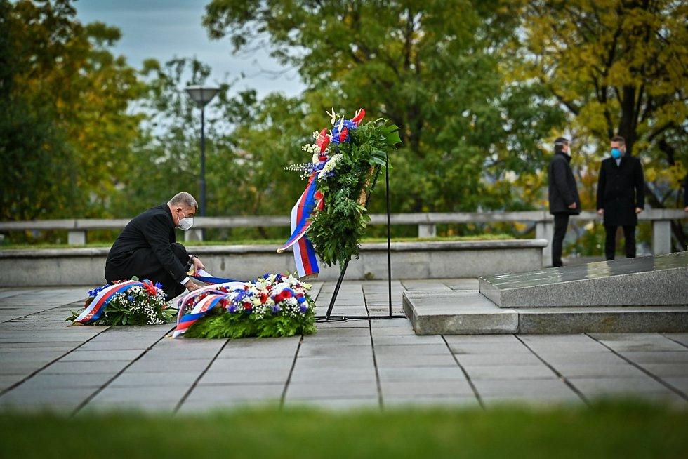 Premiér Andrej Babiš na Vítkově.