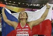 Barbora Špotáková má zlato