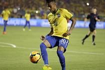 Brazilský šikula Neymar.