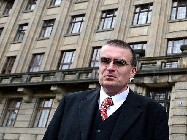 Ministr dopravy Zdeněk Žák.