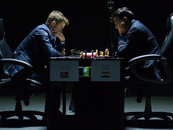 Magnus Carlsen vs. Višvánáthán Ánand