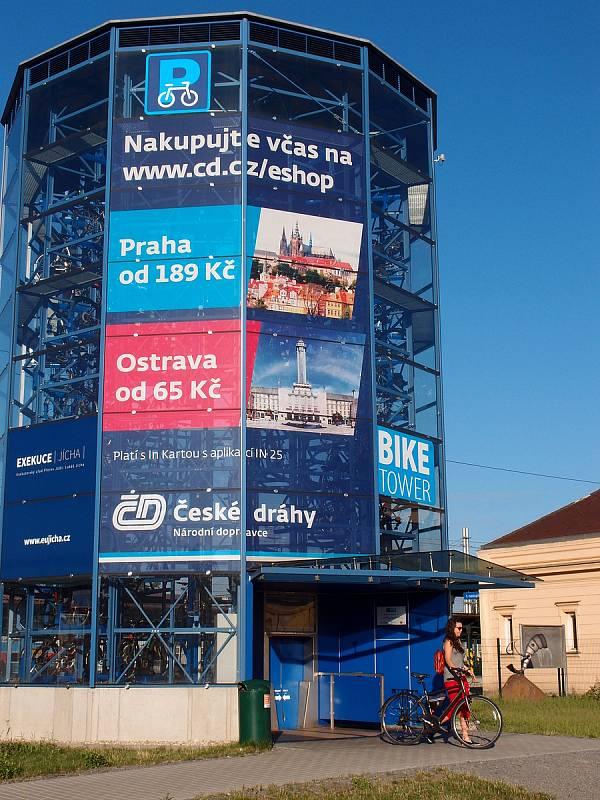 V cyklověži zaparkovalo kolo s číslem 30 tisícfoto: archiv města Přerov