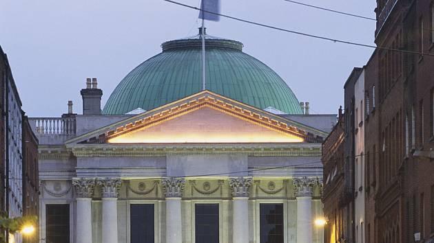 Budova dublinské radnice. Ilustrační foto.