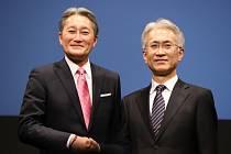 Kazuo Hirai (vlevo) a Kenichiro Yoshida (vpravo)