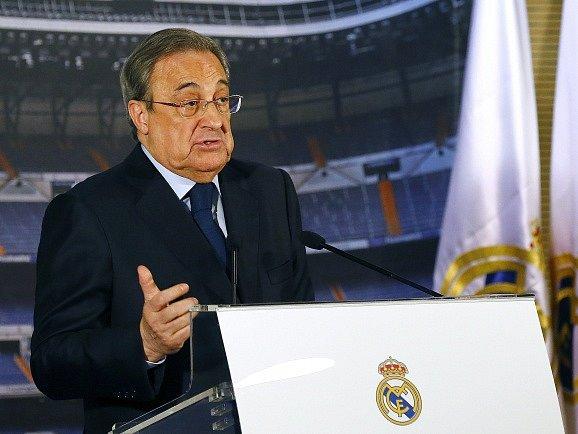 Florentino Pérez, šéf Realu Madrid