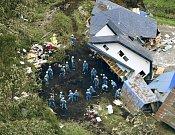 Následky zemětřesení v Japonsku na ostrově Hokkaidó