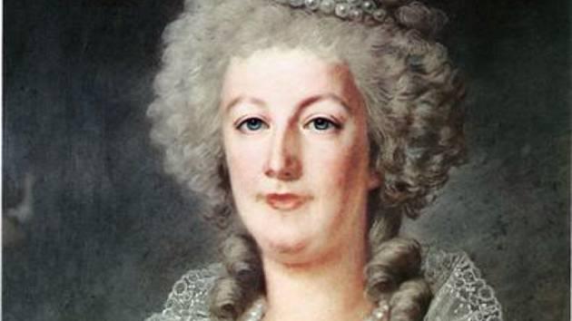 Marie Antoinetta v roce 1790. Portrét maloval Alexander Kucharsky.