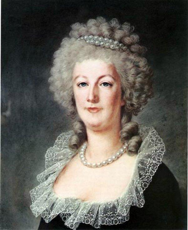 Marie Antoinetta v roce 1790. Portrét maloval Alexander Kucharsky. Foto: Wikimedia Commons, volné dílo