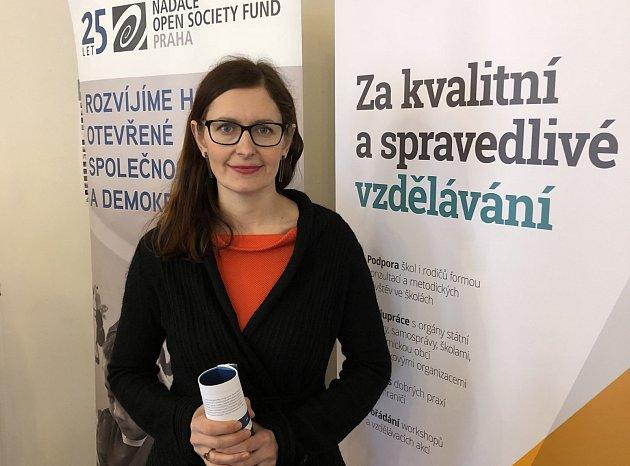 Předsedkyně České odborné společnosti pro inkluzivní vzdělávání Klára Laurenčíková.