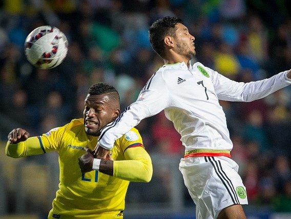 Fotbalisté Ekvádoru zdolali Mexiko