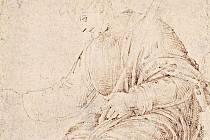 Nejstarší dochovaná kresba Michelangela Buonarrotiho. Autor ji vytvořil ve věku zhruba 12 let