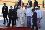Papež František na návštěvě Barmy