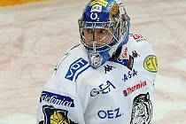 Brankář Liberce Marek Pinc.