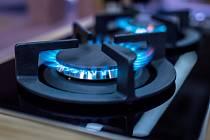 Plynový sporák - Ilustrační foto