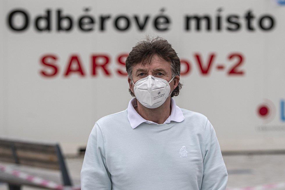 Prezident České lékařské komory Milan Kubek