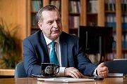 Rektor Univerzity Karlovy v Praze Tomáš Zima poskytl 2. února v Praze rozhovor Deníku.