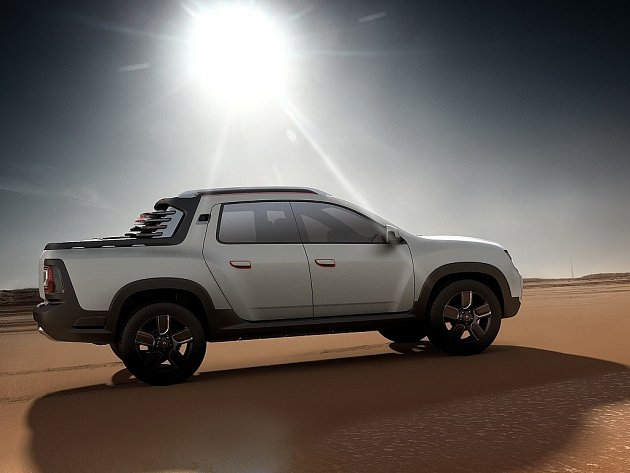 Koncept Renault Duster Oroch.