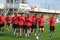 Čeští fotbalisté se připravují na další utkání kvalifikace o postup na MS 2010.