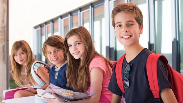 Děti ve škole. Ilustrační snímek