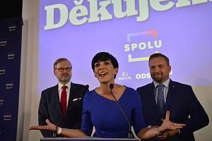Volební štáb koalice Spolu
