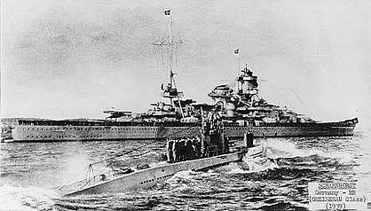 Ponorka U-47, která se stala po proniknutí do britské námořní základny nejoslavovanější ponorkou nacistické propagandy