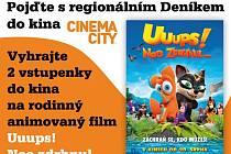 Pojďte s  regionálním Deníkem do kina!