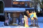 Venkovní jesličky ve Stirlingu v kanadském Ontariu
