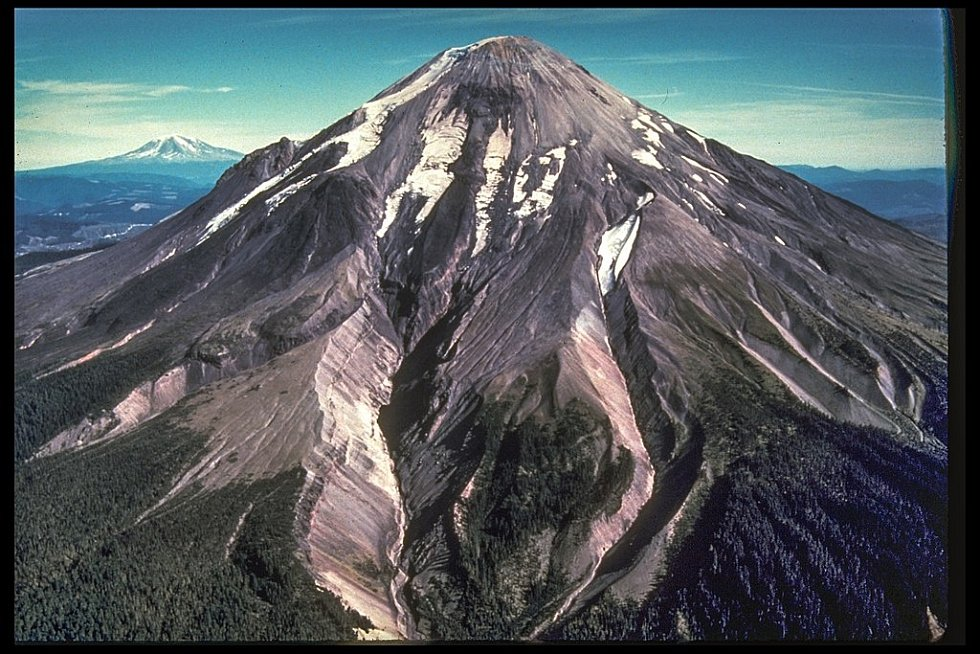 Hora svaté Heleny před erupcí