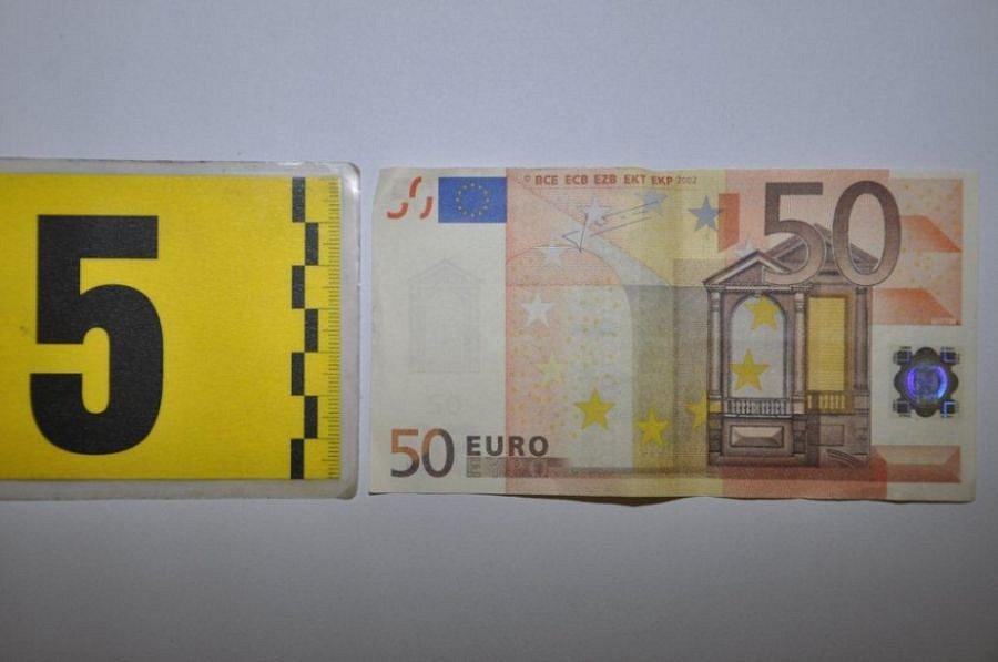 Padělané padesátieurové bankovky